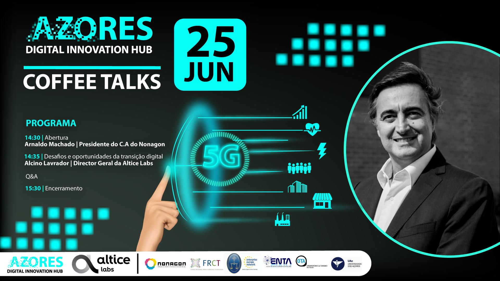 """Featured image for """"CoffeeTalk: Desafios e oportunidades da Transição Digital"""""""