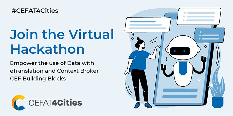 """Featured image for """"FIWARE promove Sessão de Informação sobre o CEFAT4Cities Virtual Hackathon"""""""